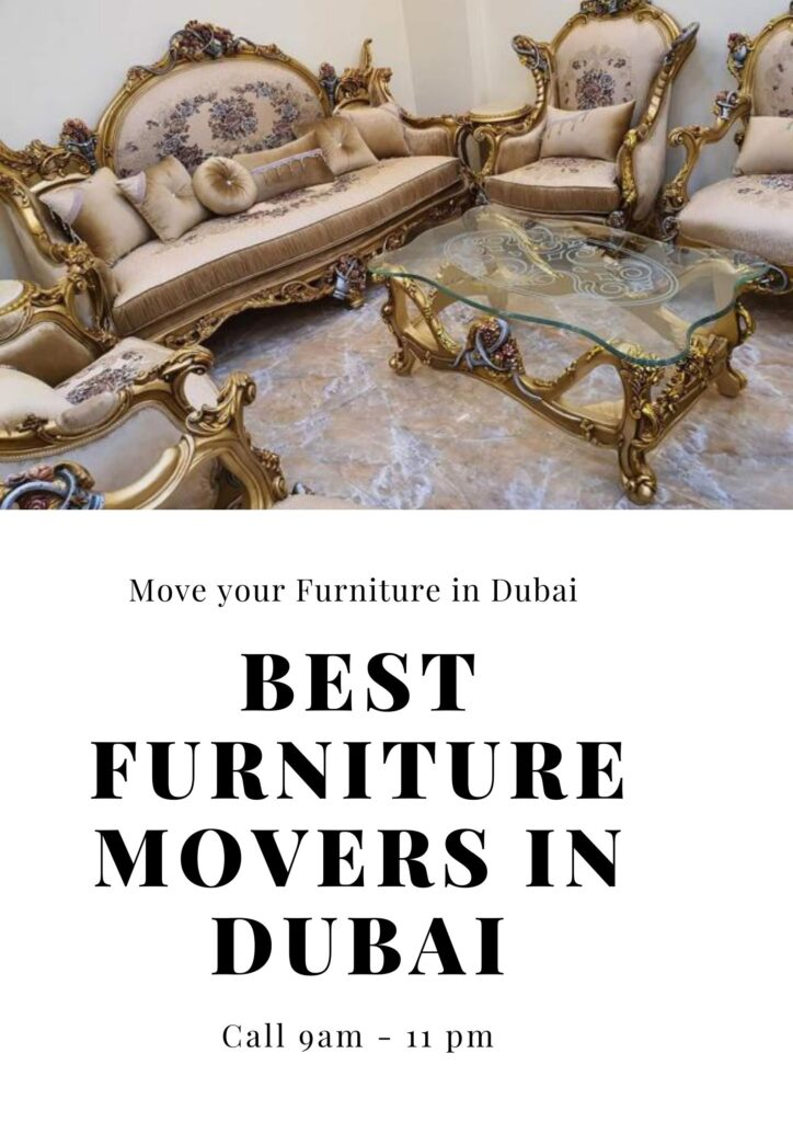 move furniture in dubai