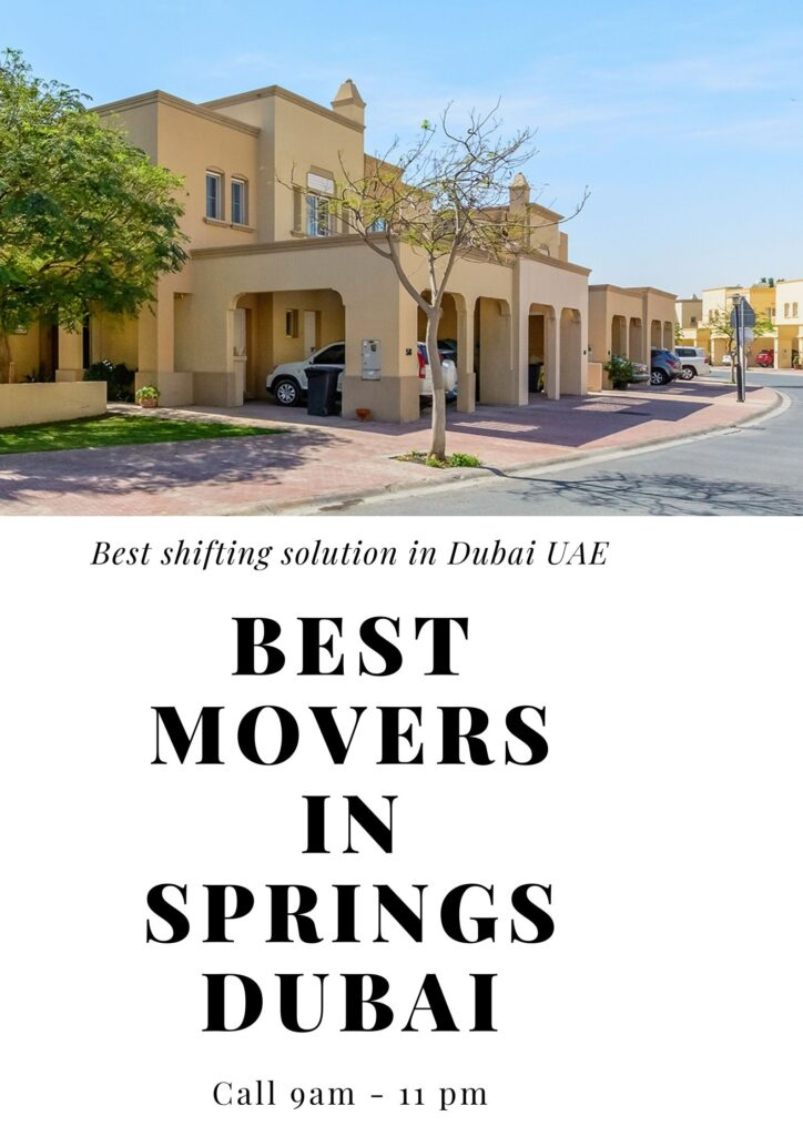 movers and packer springs dubai